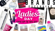 It's Ladies Day! Save Up to 78% Off Everyday Essentials for Her. Ft. Olaplex Haircare, Lancome Cosmetics, Revlon Lashes, Marc Jacobs Perfume & More
