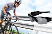 Capture the Action w/ a Pair of HD Action Camera Glasses, Feat. HD Video, Photos & Audio! Perfect for Action Sports or Everyday Adventures. Polarised