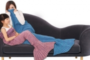 Under the Sea! Make Play Time, Nap Time or Reading Time More Fun w/ a Cute Mermaid Tail Blanket! Shop Various Colours in Both Adult & Child Sizes