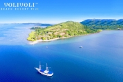 FIJI Beachfront Family Getaway w/ 5 Nights for 2 Adults & 2 Kids Under 11 at Volivoli Beach Resort! Incl. Daily Brekkie, 3-Course Evening Meals & More