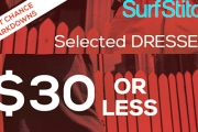 Take Full Advantage of the Last Month of Hot Weather & Shop Select Dresses $30 & Under at SurfStitch Online! Ft. Brands Element, Swell, Elwood & More