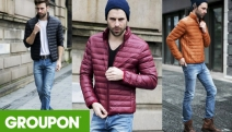 Keep Cosy & Warm in the Cold Season with 100% Down Packable Puffer Jacket for Men! From $35 Designed to be Ultra Light. Available in 4 Colours in M-XL