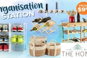 Feeling Cluttered? Find Solutions for Every Room in the Organisation Station Sale! Indoor & Outdoor Shelving, Baskets, Car Storage Solutions & More!