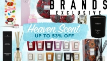 Enjoy Delicious Scents from Royal Doulton, The Fine Fragrance Company Melb & More w/ this Heaven Scent Homewares Sale! Shop Candles, Diffusers & More