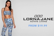 Ladies, Kickstart Your Active Lifestyle w/ the Lorna Jane Activewear Sale! Shop a Range of On-Trend Apparel Incl. Pants, Tops & More from $19.99