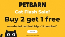 Get Your Feline Pal Purring w/ Delight with the Petbarn Cat Flash Sale! Buy 2 Get 1 on Select Products Incl. Dine Saucy Morsels with Ocean Fish + More