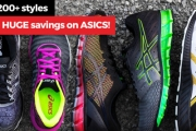 Find Your Rhythm on Your Next Workout w/ the ASICS Footwear Megastore Sale! Over 200 Styles, You'll Find a Shoe for Any Activity for the Whole Family