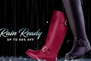 You'll Want Rainy Days to Stay w/ the Wet Weather Edit Sale! Shop the Range of Vibrant Gumboots, Raincoats & More, Guaranteed to Keep You Dry in Style