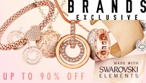 Sparkle with this Exquisite Collection of Gold Plated Jewellery Ft. Swarovski Elements! Shop Rings, Pendants, Bangles & More. Plus P&H