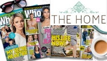 Get the Inside Scoop Straight from Hollywood w/ a 2-Month Subscription to Who Magazine! 8 Issues Filled w/ the Latest in News, Food & Fashion