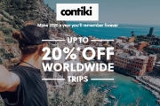 Pack Your Bags this 2020 w/ Up to 20% Off Worldwide Trips w/ Contiki! Plan Your Dream Destination & Make it a Year to Remember. Europe, Asia & Beyond