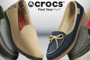 Update Your Comfy Footwear w/ Crocs! Renowned for their Innovative Materials, You'll Get Softness & Flexibility! Shop Flip Flops, Shoes, Sandals & More