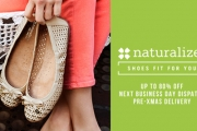 Achieve a Stylish Look Without Compromising Comfort w/ The Naturalizer Shoe Sale! Plus P&H, Delivery in Time for Christmas in Most Areas