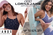 Feel Fab as You Sweat it Out w/ Lorna Jane Activewear! Shop Up to 62% Off the Cherry Blossom Bralette, Super Hero Excel Tank, Core Short Tights & More