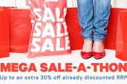 Beat the Monday Blues w/ the Groupon Mega Sale-A-Thon! Enjoy Up to 30% Off Already Discounted Prices Sitewide w/ Code: HUGE. Ends Midnight Wednesday!