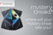 MYSTERY BREAK Feeling Spontaneous? Surprise Someone Special w/ a Virgin Australia Mystery Break! Includes Rtn Flights, 4-5 Star Accom. & More