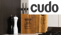 Need a Gift for a Friend Who Has Everything?! Shop this Personalised Wooden Knife Block from The Photobook Club! Made in Oz w/ Durable Acacia Wood