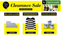 Stock Up on Quality Essentials w/ the Harris Scarfe Clearance Sale! Collection of Reduced Items Across Electrical, Apparel, Kitchen & Dining + More