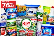Make Cleaning a Breeze with the Ultimate Cleaning Guide Sale! Refresh Your Home w/ Finish Dishwasher, Pine O Cleen Antibacterial Disinfectant & More