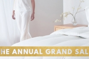 It's Clearance Time & Everyone's Invited! Shop The Home's The Annual Grand Sale! Huge Range of Quilts, Pillows, Decor, Art, Rugs, Furniture & More