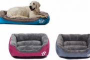 Keep Your Furry Friend Warm & Comfy in the Winter w/ a Warm Pet Lounge Bed! Fashionable w/ High-Quality Plush Fabric in Range of Sizes & Colours