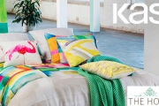 Brighten Your Home w/ This Bedlinen Collection From Sydney Design House, KAS. Ft. Quilt Covers & Accessories in a Range of Vibrant Colours & Designs