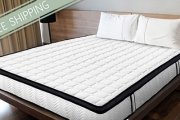 Sweet Dreams Are Made of These Therapeutic Mattresses from $269! Delivery Incl. Choose Memory Foam w/ Bamboo Cover or a Latex Pocket Spring Mattress