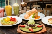 Satisfy Sweet Cravings with Up to $60 to Spend on Food & Drinks @ Charlie Rabbit, Haymarket! French Crepe w/ Ice Cream, Banana Caramel Pancakes & More