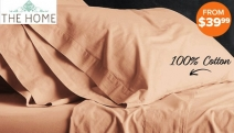 Get Cosy in this Range of Park Avenue Vintage Washed Sheet Sets! Enjoy the Feel of 100% Cotton Sheets. Single-King Sizes in Fab Colours! From $39.99