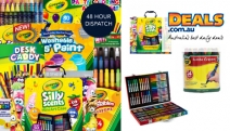 Feed Your Kid's Imagination with these Amazing Collection of Crayola Art Supplies! Shop Modeling Dough, Washable Markers, Paint Pack and Lots More