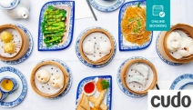 Satisfy Chinese Cravings w/ a Spectacular 10-Dish Yum Cha Feast + Chinese Tea @ Silk Dining! Prawn Dumplings, Steamed Broccoli w/ Oyster Sauce + More