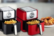 Prepare Delicious, Crispy Fried Food w/ Minimal Oil w/ this Ultra-Handy Large Pronti 3.5L Air Fryer! Up to 80% Less Fat Used than Other Fried Food