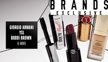 Update Your Makeup Collection w/ the Luxury Makeup Sale. Shop Foundations, Blush, Lipsticks & More from Big Brands Incl. Bobbi Brown, YSL & More