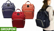 Travel with Your Little One w/ Ease w/ the Mummy Nappy Diaper Shoulder Bag Just $29.95! Store Diaper Pads, Bottles, Toys & More. 4 Colours. Plus P&H