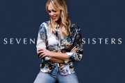 Stand Out from the Pack in this Season's Latest Prints from Design Company Seven Sisters! Shop Tops, Dresses, Coats, Cardis, Pants & More. Plus P&H