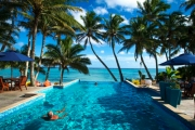 COOK ISLANDS Up To 7N Romantic Couple's Escape @ Award-Winning, Adults-Only Little Polynesian Resort! Beachfront Bungalow on Private Beach, Rarotonga