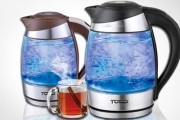 What Drink Breaks the Ice? Flirt-Tea! Brew the Perfect Cuppa w/ a 1.8L Variable Temperature Glass Kettle! 5 Temperature Settings & Colour Changing LEDs