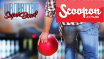 STRIIIIIKE! Don't Go Spare with a Game of Tenpin Bowling at Manhattan Superbowl! Fun 60s Theme & Happy Days Décor - Just $7 Per Person w/ Shoe Hire