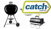 Cook Up a Storm w/ these Smokin' Hot Deals! Shop the Weber Kettle Charcoal BBQ, Gasmate Smoker Box, Insulated Stainless Steel Food Warmer Pot & More