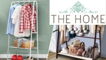 Need Space? Don't Miss this Range of Hanging Storage Solutions! Shop Space-Saving & Functional Clothes Racks, Line Hang-Drying Racks & More