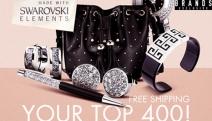 Treat Yourself to Beautiful Jewellery w/ SWAROVSKI Elements Mega Sale! 400 Styles of Jewellery PLUS Handbags & Accessories! + Free Shipping