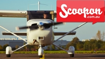 Soar to New Heights w/ a 1-Hr Introductory Flight w/ Goulburn Flight Training Centre! Learn to Take-Off & Land in a Gazelle CA25 w/ Instructor
