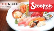 Ready Your Chopsticks for a Tasty 9-Course Sushi & Grill Degustation Dinner for Two People w/ Sake, Wine or Beer! York Street, CBD