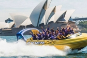 Take a Ride on the Wild Side with a 30-Min Thunder Jet Boat Ride for Just $39! Experience High-Speed Stunts & See Sydney in a Thrilling New Way