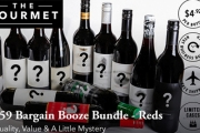 Sample Stellar Wines w/ this $59 Bargain Booze Bundle, Reds Edition from The Gourmet! Brands Incl. Wolf Blass, Lindemans & More. Delivery Included