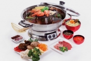 Make Your Favourite Hot Pot Dishes at Home w/ a Teppanyaki & Steamboat Cooker! Ft. Heat Control Settings, Tempered Glass Lid & More