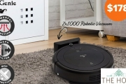 Leave the Dirty Work to the My Genie ZX1000 Robotic Vacuum! Incl. Vacuum, Sweep, Mop & Sterilise Functions! Compact Design to Reach All Corners