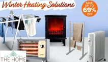 Keep Your Home Toasty Warm w/ these Winter Heating Solutions! Save Up to 69% Off the Norwegia Heated Clothes Rack, Heller Electric Fireplace & More