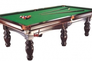 Rack 'Em Up w/ an 8ft Full Pub-Size Billiards Pool Table w/ Accessories! Incl. Cues, Balls, Chalk, Triangle, Table Brush & Lots More. Plus P&H