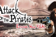 Walk the Plank w/ an Attack of the Pirates Adventure Tall Ship Cruise! Be Entertained by Tales of Treachery & Betrayal w/ Cannons, Swords & Stunts